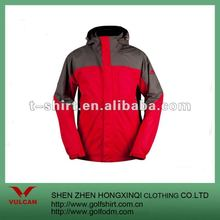 2012 Profession Unisex Red With Gray Combinations Outdoor Sports Jacket