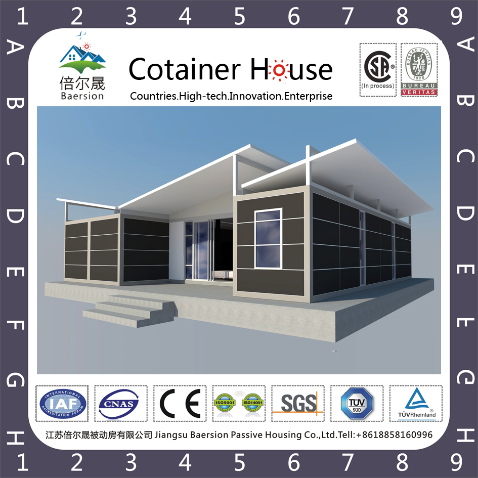 Dual slope monitor dry hanging wall plate Container House(BCH007)