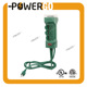 Power Stake Surge Protector With 24hrs Mechanical Timer For Yard and Garden Waterproof 14/3 SJTW Extension Cord ETL Listed