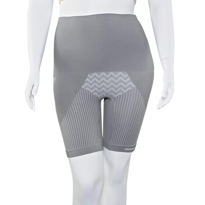 6a3869f92c9e2 Get Quotations · SANKOM Grey Slimming   Posture Shaper with Bamboo Fibers  XXL