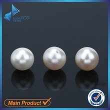 AAA Flawless Oval Natural Pearl Price White Freshwater Pearl