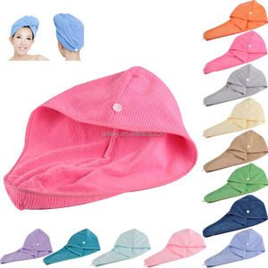 quick dry hair wrap towel Hair turban towel 100% cotton