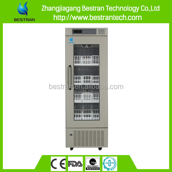 BT-4V208 CE ISO medical 4 degree single glass door medical vaccine storage freezer price