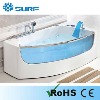 Luxury CE Approved Indoor Portable Massage Bathtub  Asymmetric Apollo  Bathtubs(SF5B0012)