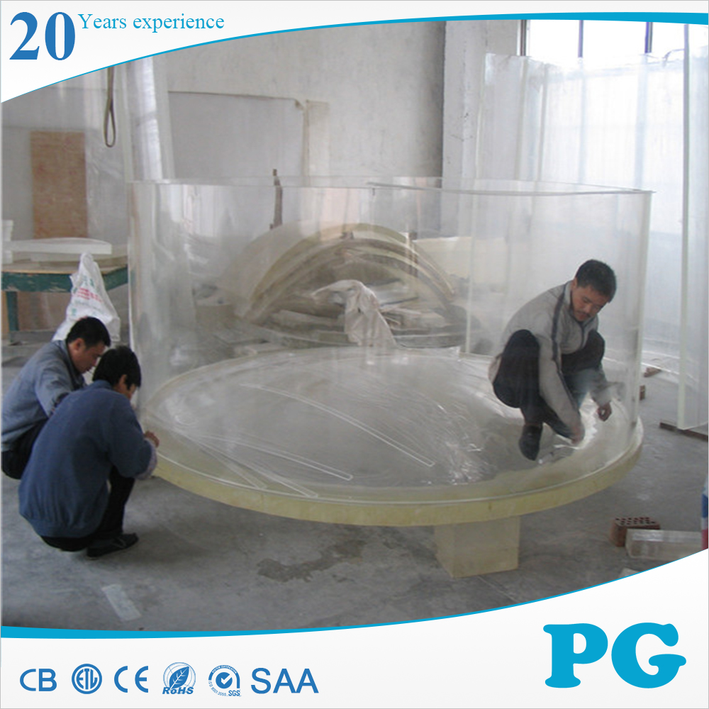 PG Acrylic Custom Product Large Fish Tank Saltwater Aquarium