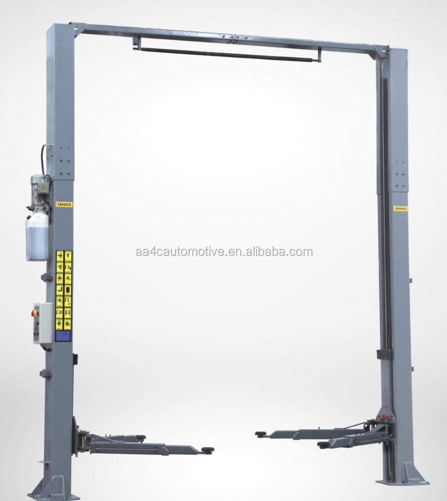 AA4C 5.0T Electrical release gantry 2 post car lift
