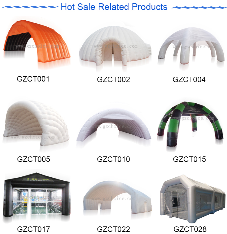 Hot Selling Outdoor Promotion 6 Legs Spider Inflatable Air Tent Dome Inflatable Event Tent