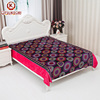New cheap fleece blankets in bulk and double ply flannel blanket for dubai blanket market.