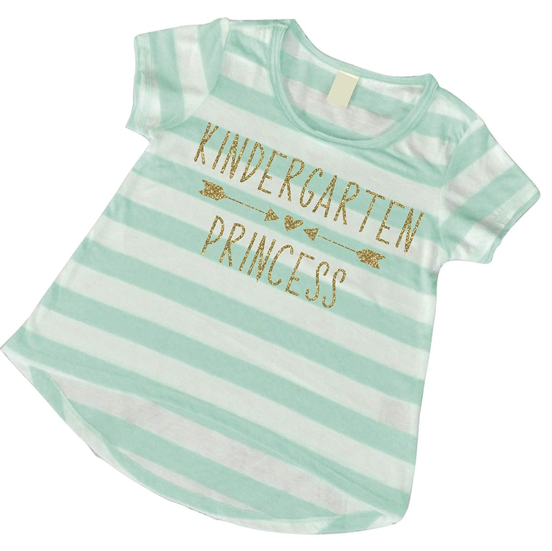98af5d743c5 Buy Girls 1st Day of Kindergarten Shirt