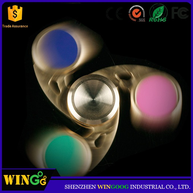 Wholesale EDC hand spinner fidget 608 ball bearing metal spinner