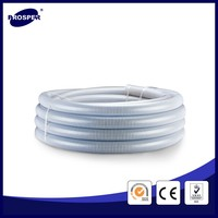 3 inch pvc suction hose/corrugated pipe for water discharge