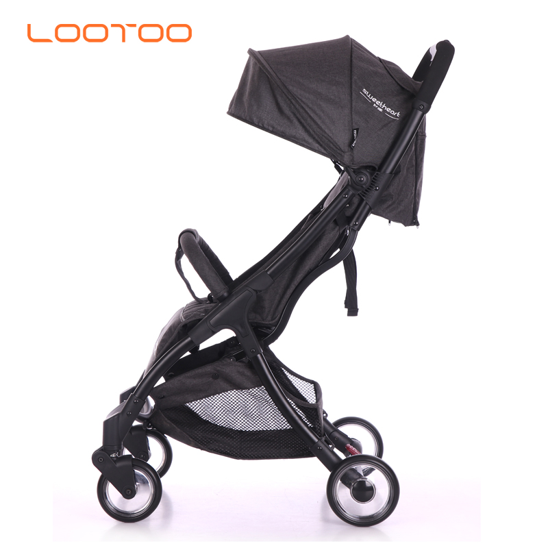 Small light weight and singlehanded easy foldable umbrella super compact baby stroller