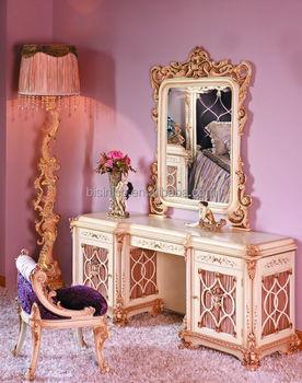 BISINI French Baroque Bedroom Furniture/ Luxury Exquisite Wooden ...