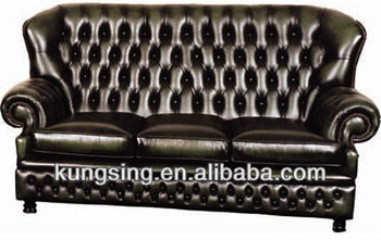 High Back Recliner Chesterfield Sectional Sofa - Buy High Back ...