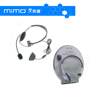 Hot Sell Small Live Chat Headset Headphone with Mic Headset for Microsoft Xbox 360 Blak