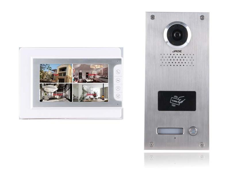 Multi Apartment Video Door Phone Intercom System Video Intercom ...