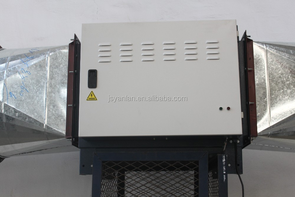 Bbq Smoke Filter,Oily Fume Absorber,Electrostatic Purification ...
