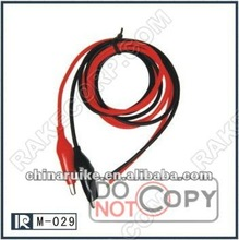 Vehicles & Remote Control Toys RC extend battery wirePlug line M-029 Alligator clip with Red/plack 16AWG wire cable