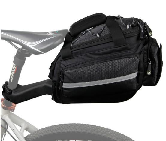 Bicycle accessories waterproof travel cycling touch screen cell phone bike top tube bag