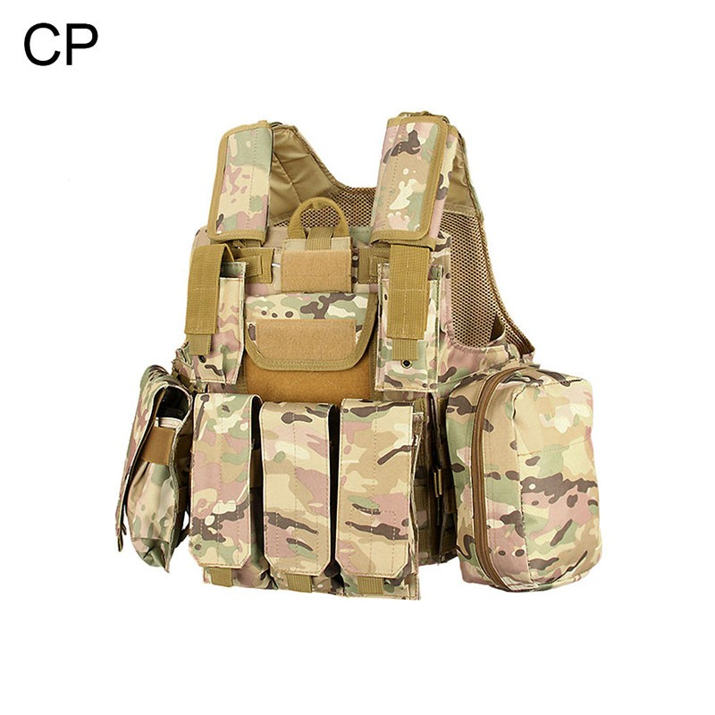 Top Selling Lightweight Airsoft Gear With Different Pouches Tactical Reflecting Safety Sports Vest