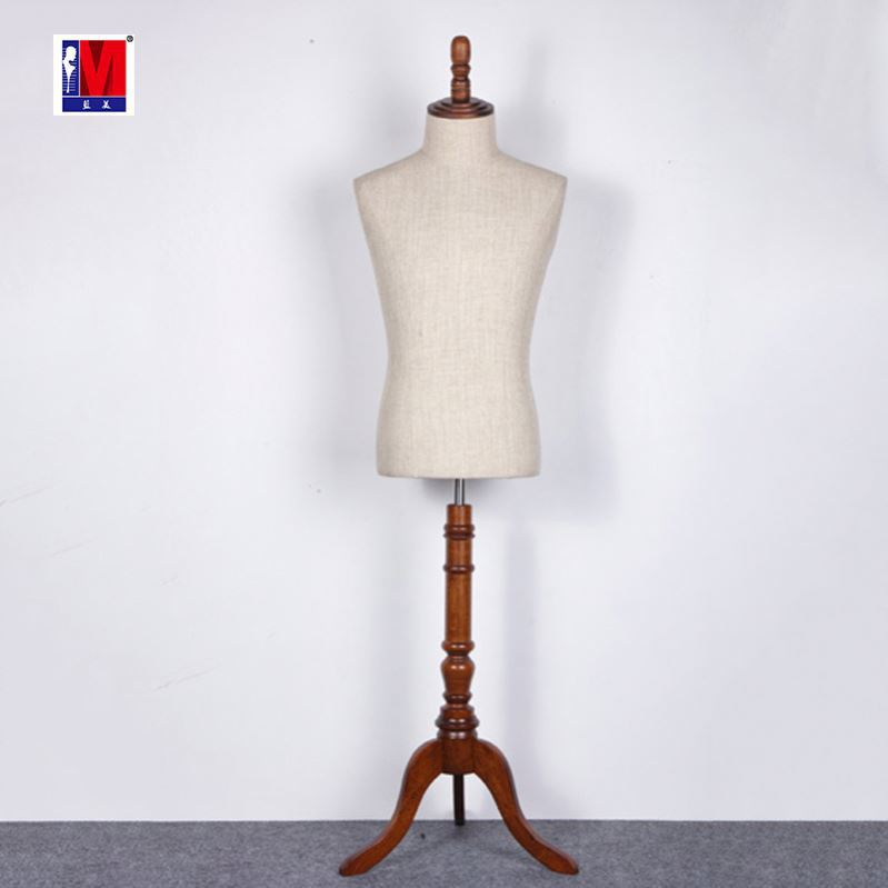 Adjustable tailor mannequin for wedding dress mannequin stand, fabric covered dressmaker mannequin China