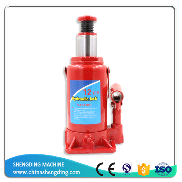 12 ton hydraulic quick car lifting bottle jacks with CE approved