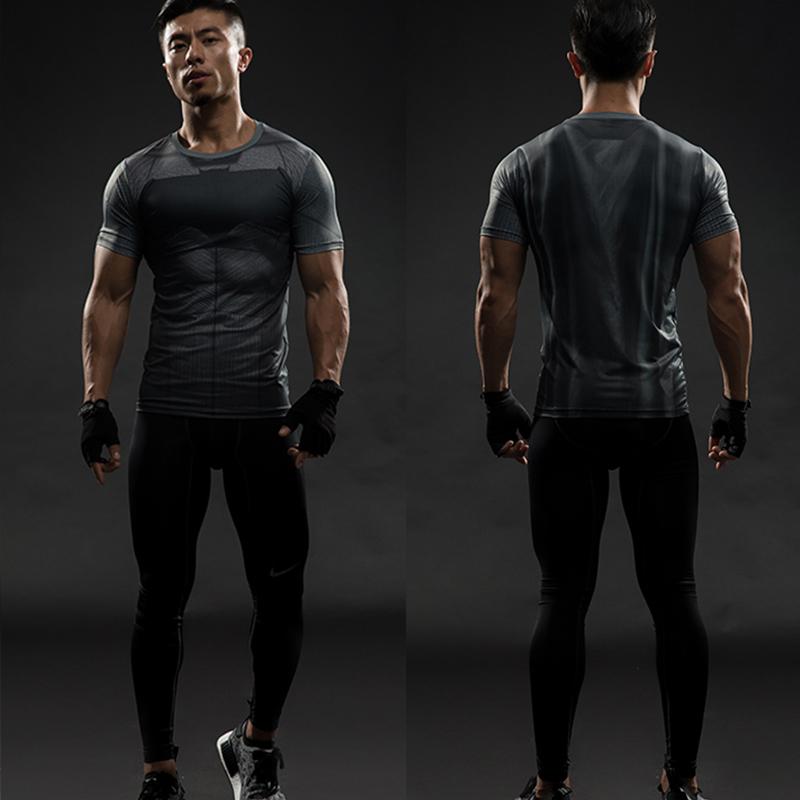 6117995c705 Batman Slim Fit Sport   Gym T-shirt (Normal Short Sleeve)