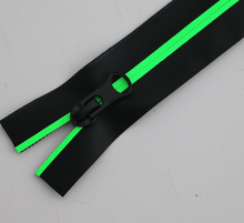 New neon verde invisibile <span class=keywords><strong>della</strong></span> <span class=keywords><strong>chiusura</strong></span> <span class=keywords><strong>lampo</strong></span> impermeabile