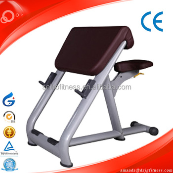 strength gym equipment weight lift training scott Bench JG-1813 ...
