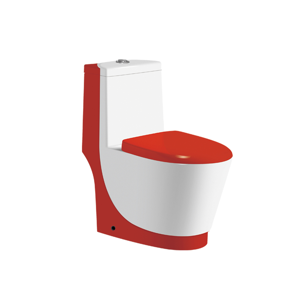 Hs 8822 Red Sanitary Toilet New Design Toilet Red Toilet