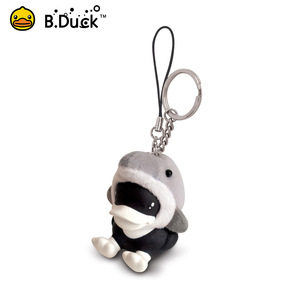 Wholesale alibaba floating cute animal pvc pu 3d key chain