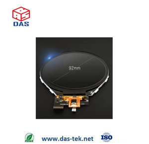 3.4 inch round lcd display with capacitive touch panel hdmi to mipi