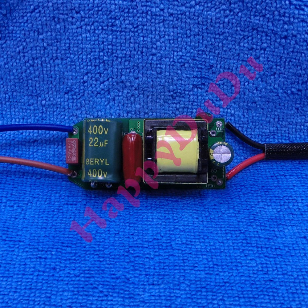 AC 90-260V Dimming Power Supply Driver 9-15x1W for LED Light Lamp 9W 12W 13W 15W ~ITEM #GH8 3H-J3/G8320592
