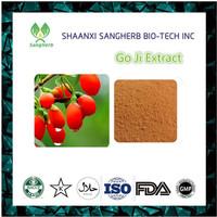 China wholesale Barbury Wolfberry Fruit P.E. Goji Berry Extract