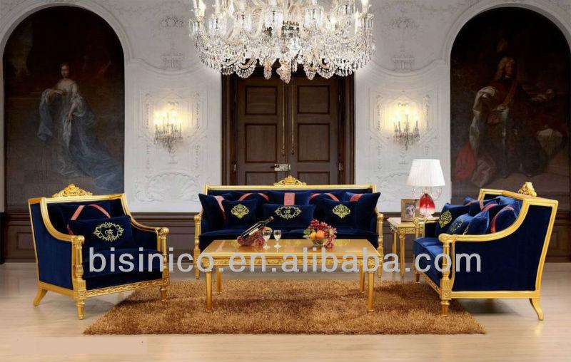 antiguos de madera tallada a mano exquisito estilo italiano sofá ...