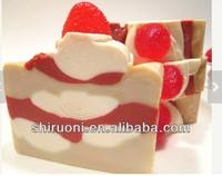 Natural Strawberry Shortcake Soap Handmade Vegan Cold Process Soap ...