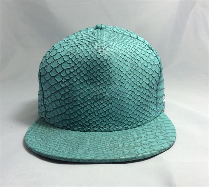 Blank 5 Panel Snakeskin Strapback Hat Python Snapback Cap - Buy High ... 254bd5453c3