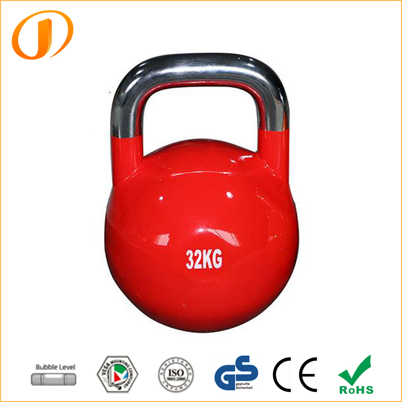 Hot sale fitness adjustable gravity powder cast iron kettle bell