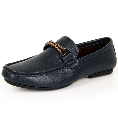 Mens Shoes Loafers Leather Spring Breathable Casual Man Loafers Shoes 2015 New Slip On Flats Shoes Sapato Masculino Size 39-44