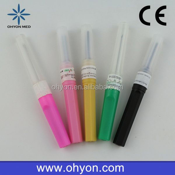 2016 Disposable Medical multi sample blood collection bd needle manufacturer
