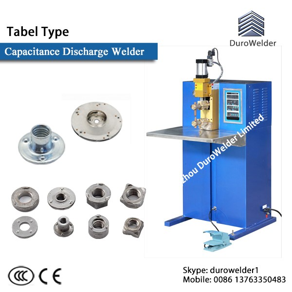 Pneumatic Type Silver Contact Parts Capacitor Discharge Welding Machine