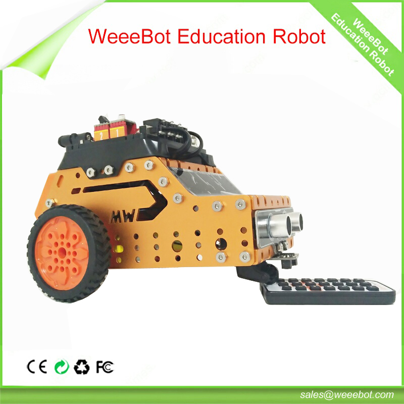 WeeeBot Engineering inductive robot toy car for big child to learning stem knowledge