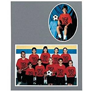 Player/Team 7x5/3x5 MEMORY MATES Cardstock double photo frame sold in 10's - 5x7