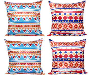 Fabulous Lepanxi Brand Living Room Sofa Decorative Pillow With Satin Cloth Pillow Core National Wind Stripe Polyester Peach Skin Cushion Buy Sofa Machost Co Dining Chair Design Ideas Machostcouk