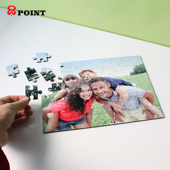 China direct factory hot selling sublimation blank puzzle