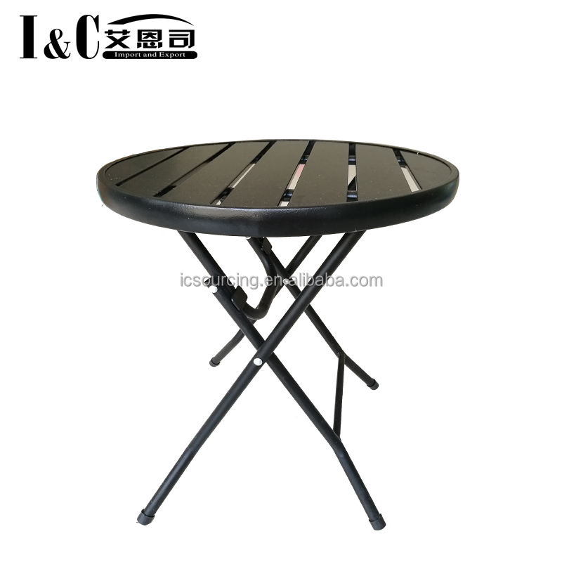 2018 3PCS metal table and chair set steel garden furniture patio set