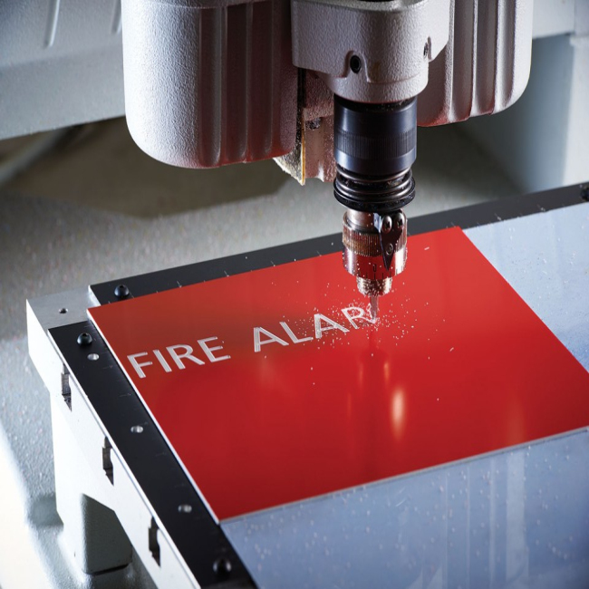 High Quality Laser/cnc Engraving Abs Double Colour Plastic Sheet/board/panel/plate For Advertising