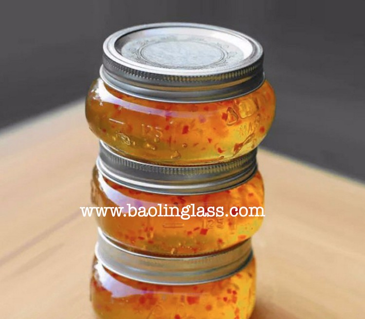 150ml Glass Canning Jar with Tin Lid