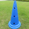 Wholesale PP Plastic Agility Sports Cone Football Soccer Training Equipment Obstacle Training Cone