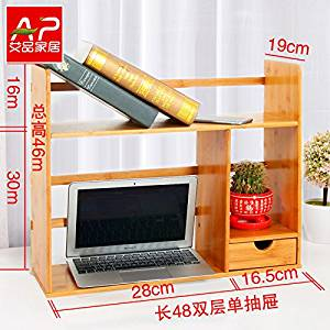 Freestanding Book Shelf Desk Top Organization Table Little Bookshelf Racks Scalable Small
